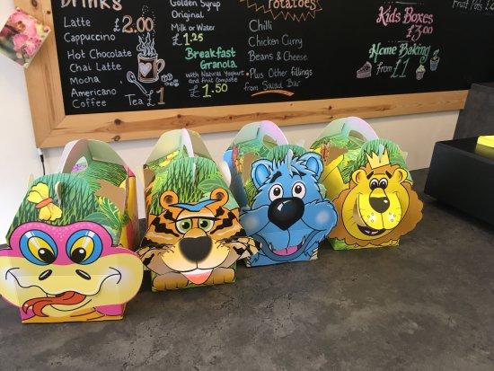Campbeltown, UK: Kids Boxes