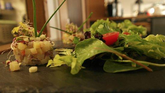 Le Comptoir de l'Océan : Tartare de hareng et pommes de terre