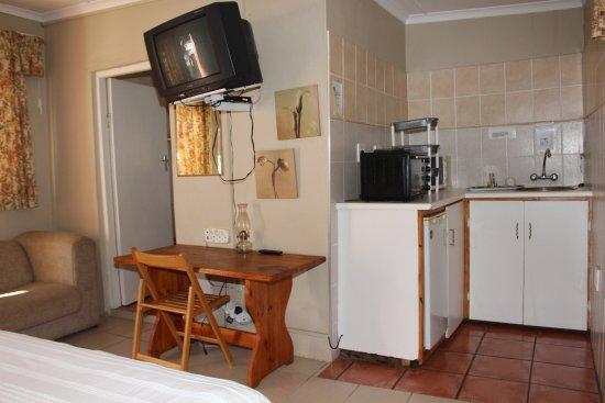 Kokstad, Afrika Selatan: Room Kitchen Area