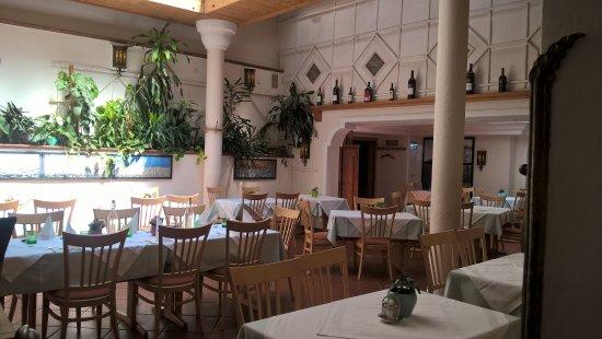 Emmersdorf, Österreich: Der Restaurantbereich