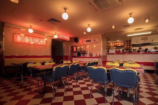 Wowburger Tallaght interior