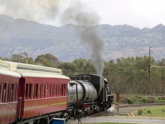 Ceres, Южная Африка: Steaming back to Cape Town