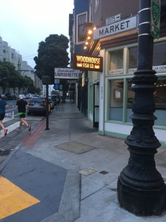 Woodhouse fish company san francisco 2073 market st for Woodhouse fish co
