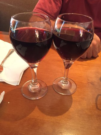Epping, NH: our glasses of Chianti
