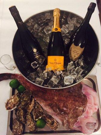 Breukelen, Holland: Zeeduivel, oesters en champagne