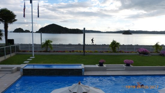 Kingsgate Hotel Autolodge Paihia: View from Reception