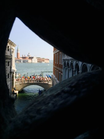 Província de Veneza, Itália: From inside the Bridge of Sighs
