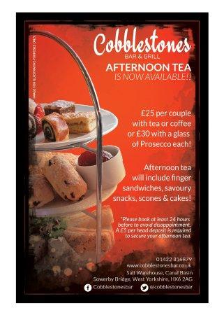 Sowerby Bridge, UK: Afternoon Tea
