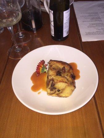 Belfast, ME: Brioche Pudding