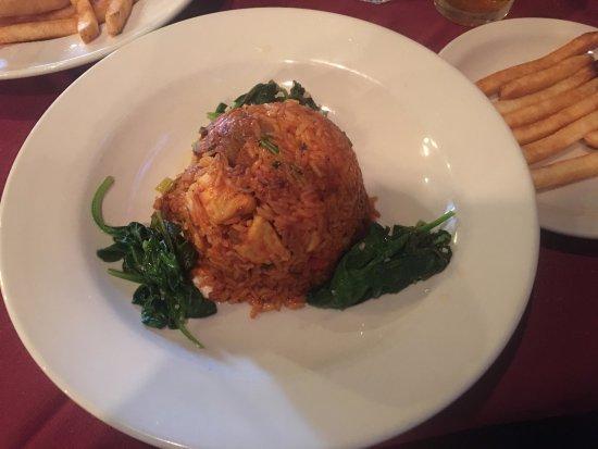 Monroe, NY: Seafood Jambalaya is Very yummy!