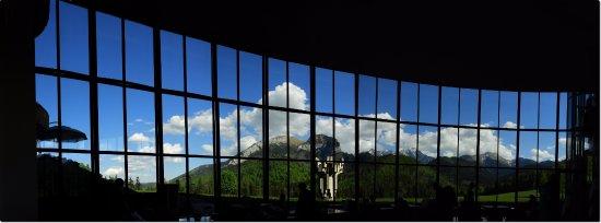 Tatranska Javorina, Slowakije: view from the Lobby