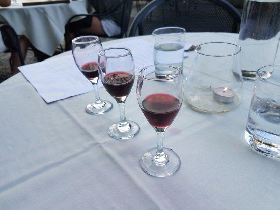 ฮัดสัน, วิสคอนซิน: Wine flight