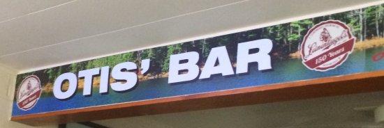 Danbury, WI: Inside Bar Sign