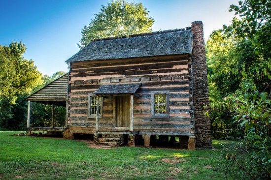 Anne Springs Close Greenway historic Graham Cabin ...