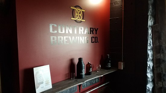 Contrary Brewing Company: Interior