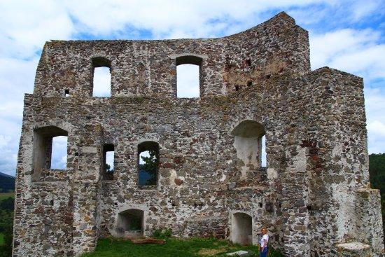 The ruin of Dobrá Niva Castle