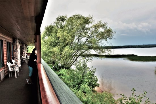 Ashland, WI: View from the second floor balcony!