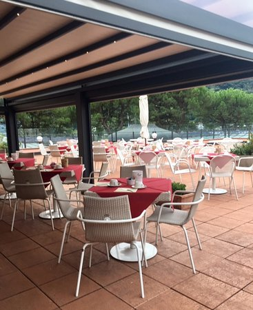 Lenno, Italien: Breakfast area