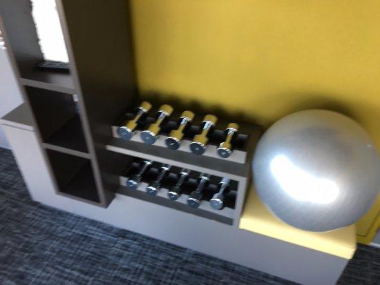 salle de sport photo de okko hotels bayonne centre. Black Bedroom Furniture Sets. Home Design Ideas