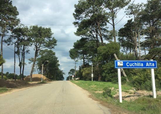 Cuchilla Alta, Uruguay: Main road