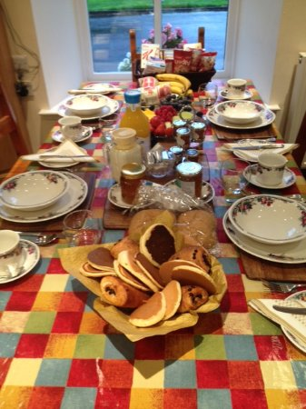 Kilmarnock, UK: Breakfast this morning