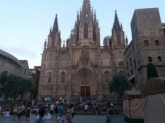 catedral bild von barri g tic gotisches viertel barcelona tripadvisor. Black Bedroom Furniture Sets. Home Design Ideas