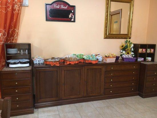 Ardea, Italia: Buffet Colazione