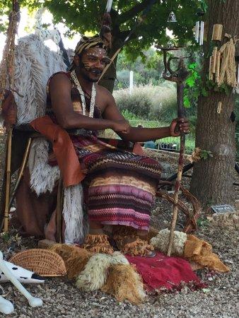 Jerusalem Botanical Gardens : The African Chief