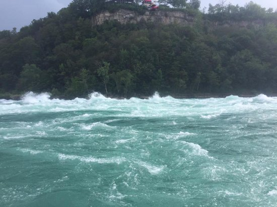 Whirlpool Jet Boat Tours: Most tame part of this ride!