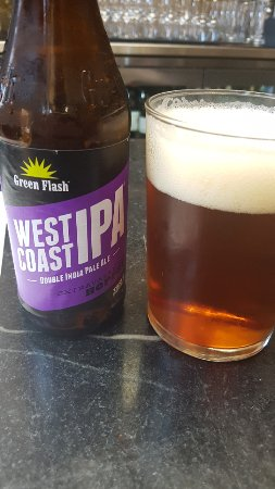 Foreign Cinema: Green Flash West Coast IPA, 8.1% and very zesty!