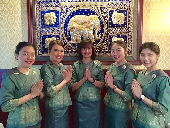 Blue Elephant Thai Restaurant: Our front of house staff August 2017