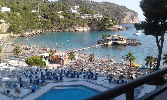 Grupotel Playa Camp de Mar: This was the view from our balcony.