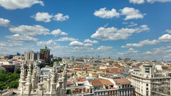 Community of Madrid, Spain: vista 360° del mirador