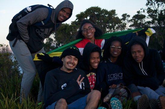 Saint Thomas Parish, Jamaica: Friends at Blue Mountain Peak