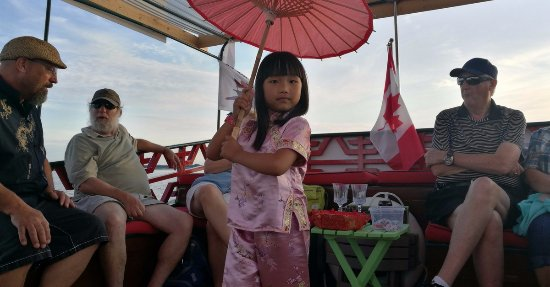 Stratford, Canada: Chinese Junk Boat Tour - Find it under the PLAY section of our website!
