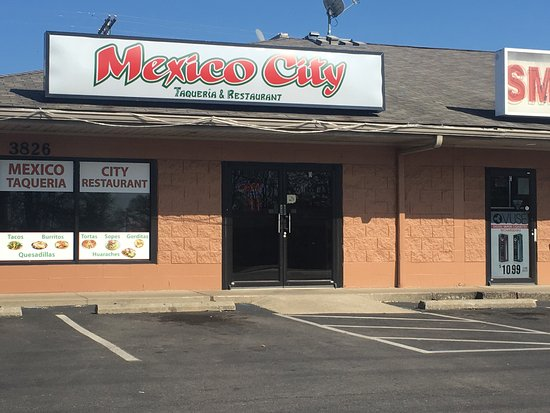 Jeffersonville, IN: Mexico City Restaurant