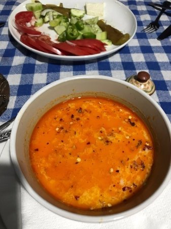 Kovachevitsa, Болгария: La soupe aux tripes, délicieuse
