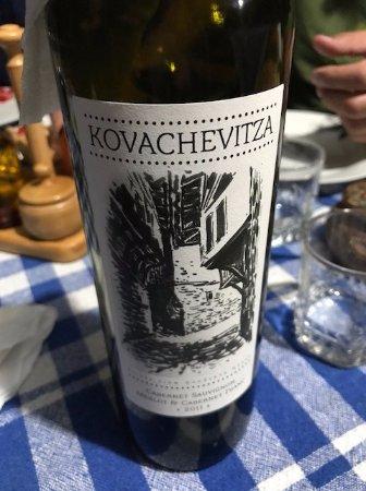 Kovachevitsa, Болгария: Un très agréable vin rouge de Thrace