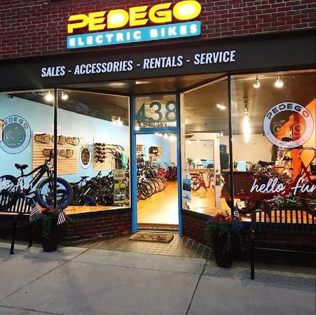 ‪Pedego Electric Bikes Petoskey‬