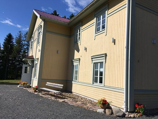Nordingra, สวีเดน: Sestola gård, riktigt bra hotell