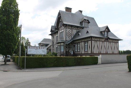 Aumale, França: Het restaurant