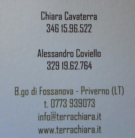 Priverno, Italien: Il Forno del Procoio