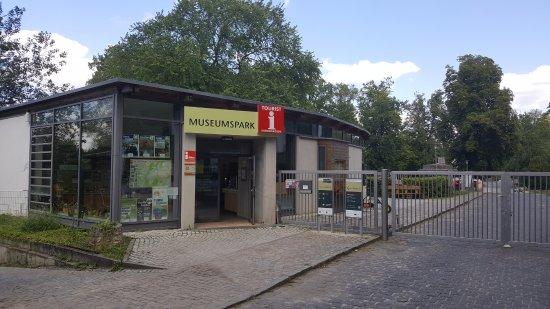 Museumspark Rüdersdorf: Eingang Museum