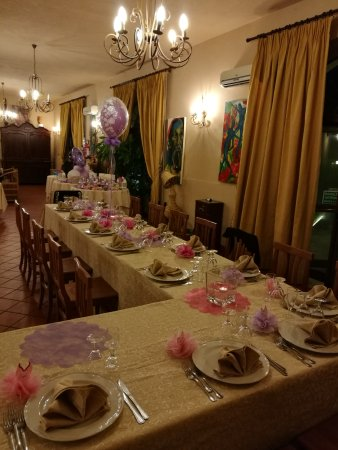 Assoro, Italy: Un'altra occasione speciale festeggiata in un luogo incantevole dove cortesia, ricercatezza e bo