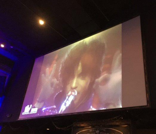 โรยัลโอก, มิชิแกน: Projection screen