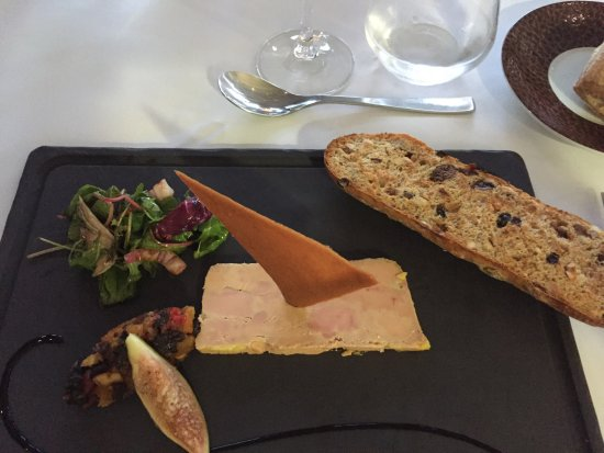 Jons, Francja: Tartelettes de foie gras mi-cuit