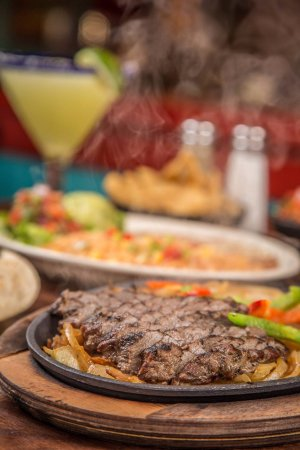 Burleson, TX: Grilled Beef Fajitas