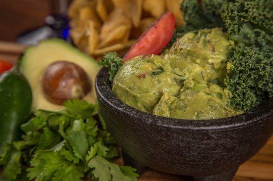 "Burleson, TX: Fresh Guacamole and ""masa"" chips"