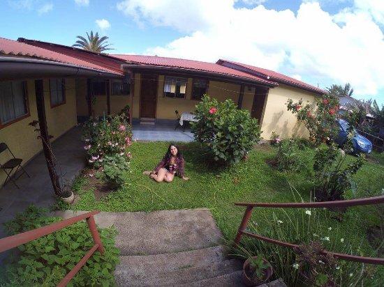 Jard n de la hostal picture of experience rapa nui for Hostal jardin