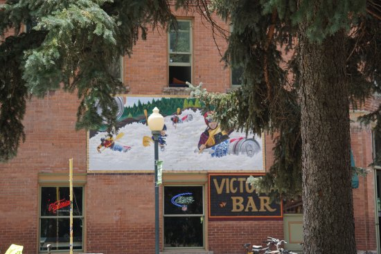 Salida, CO: The park is right in the shopping area.